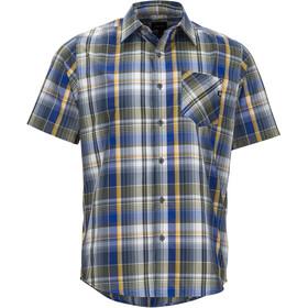 Marmot M's Echo SS Flannel Shirt Vintage Navy